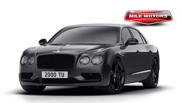 بينتلي تُطلق BENTLEY FLYING SPUR V8 S BLACK EDITION